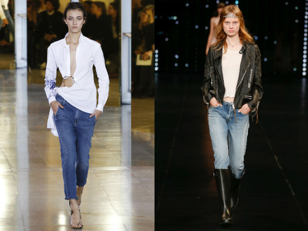 What jeans are in style in 2017