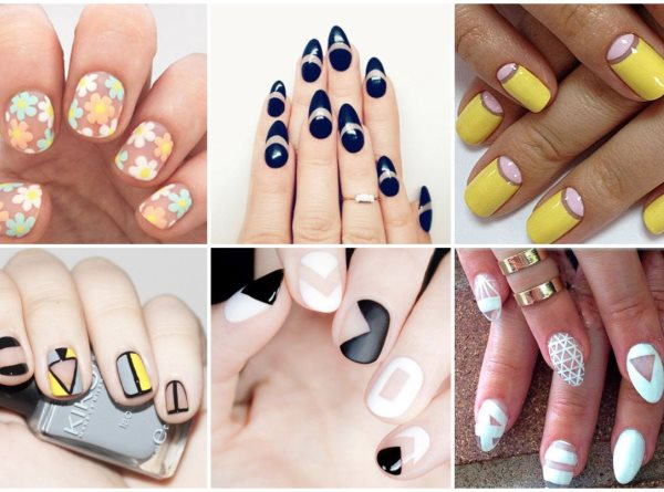 Manicure trend 2017: Negative Space
