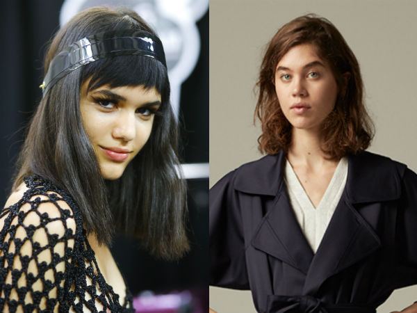 Haircuts for long hair 2017 carre