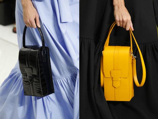 Women handbags spring summer 2017: shapes
