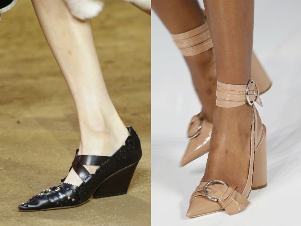Women shoes with pointed toe Spring Summer 2017