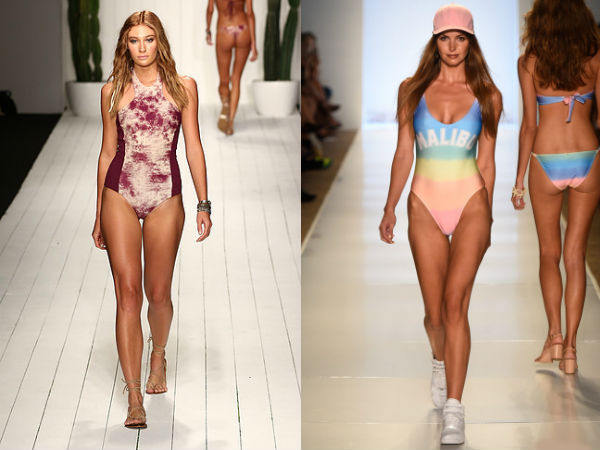Bathing suits 2017 spring summer: prints
