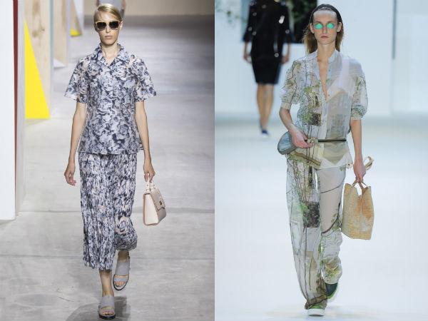 Womens suit 2017 floral print