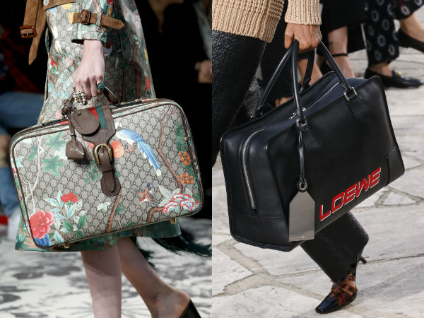 Modern travel bag