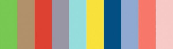 Trendy colors 2017