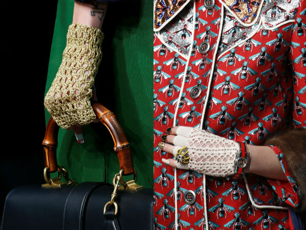 Women accessories 2017: gloves