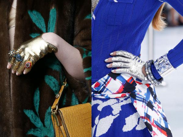 Elegant gloves