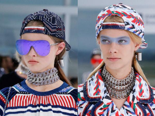 Chanel head accessories
