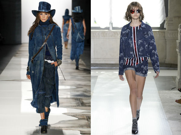 Jackets and trench coats spring summer 2017: denim