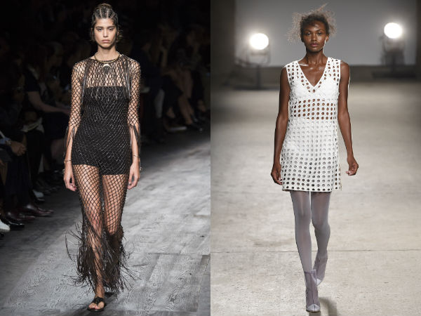 fashion perforated