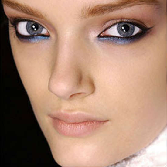 Makeup for gray eyes