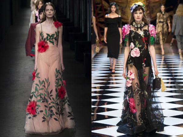 Dolce Gabbana gowns