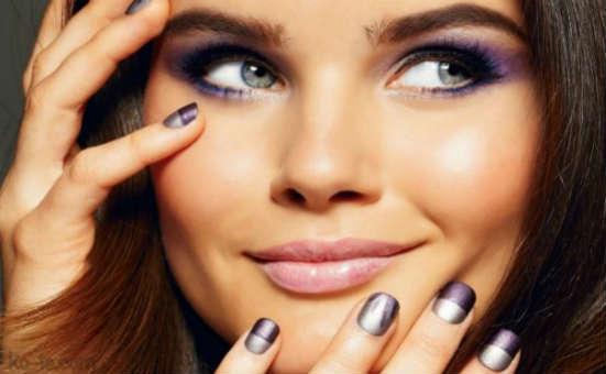 Makeup for gray eyed brunettes
