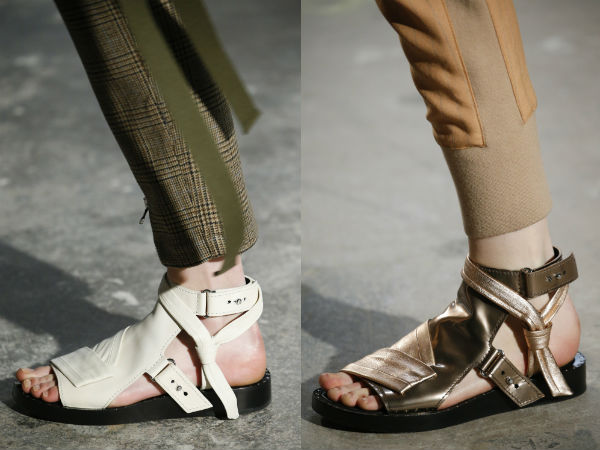 Footwear with straps 2017 2018 fall winter
