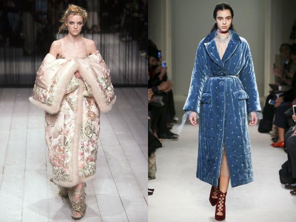 Women's quilted coats