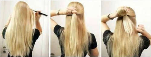 Easy hairstyles for blond long hair
