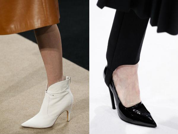 pointy toe medium heel