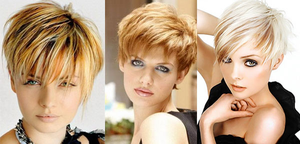Round face haircuts