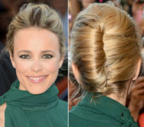 Easy shell bun hairstyles for long hair