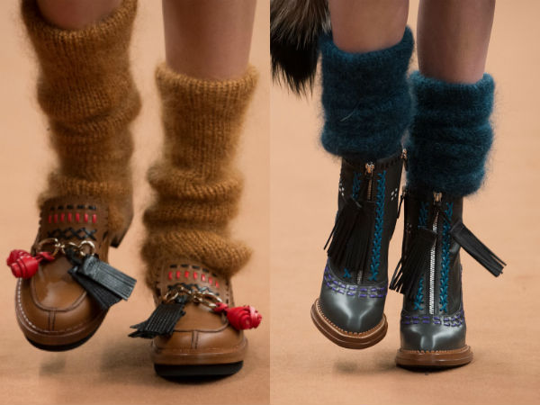 What are the footwear trends in winter 2018
