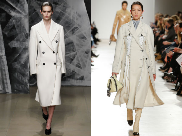 White Women's Coat