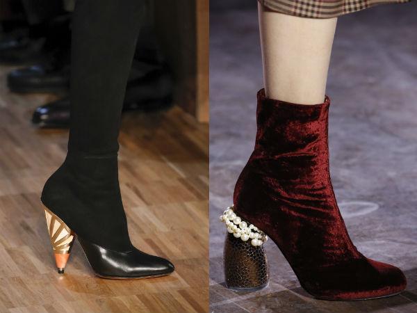 Medium heeled boots 2017