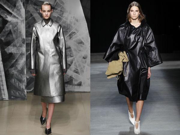 Womens Trench Coats 2017 2018: Fabrics