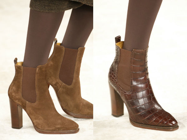 Fall 2017 ankle Boots