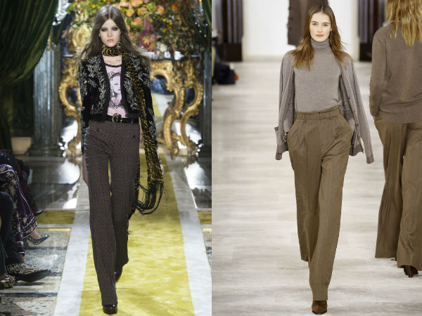 What are the pants trend in 2018