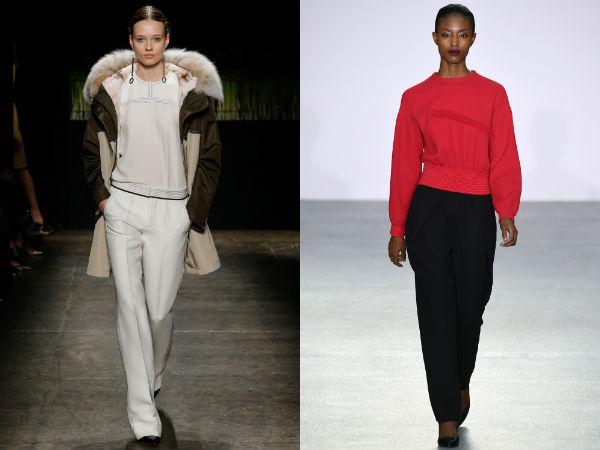 Fashion Pants Fall Winter 2017 2018: Colors