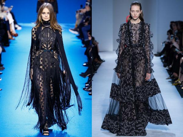 Fall winter 2017 2018 fashion trends: light fabrics