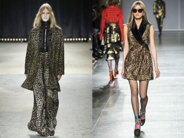 Main fashion trends 2018 predatory animals and reptiles print