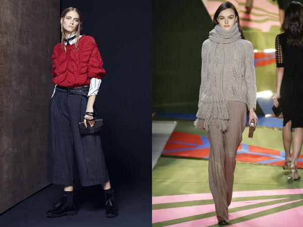 stylish chunky knit width=