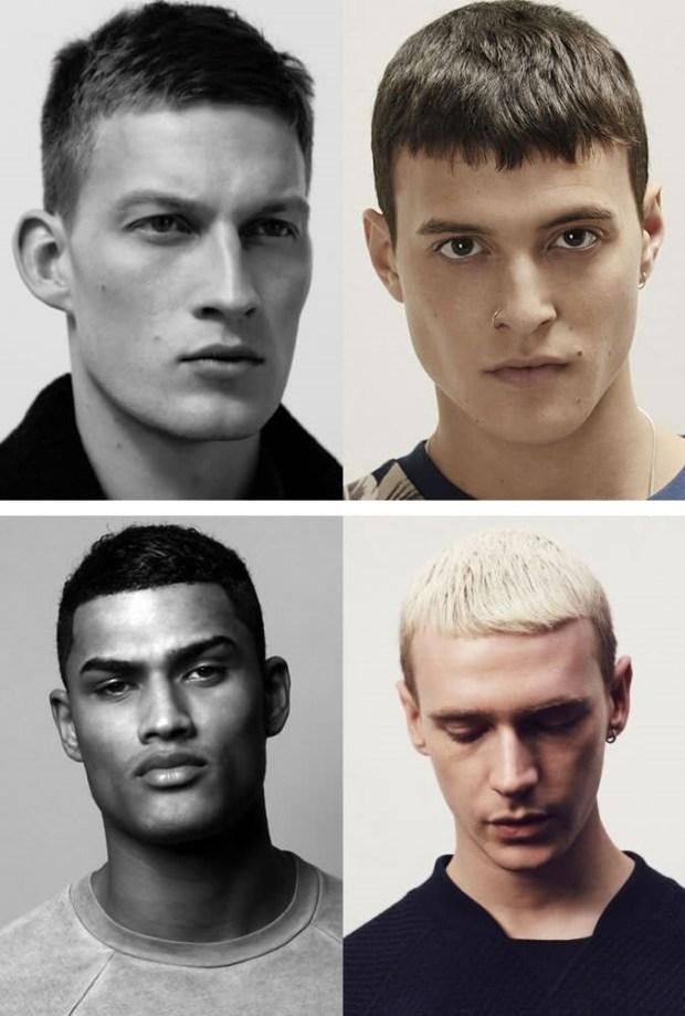 Men hairstyles for shot hair