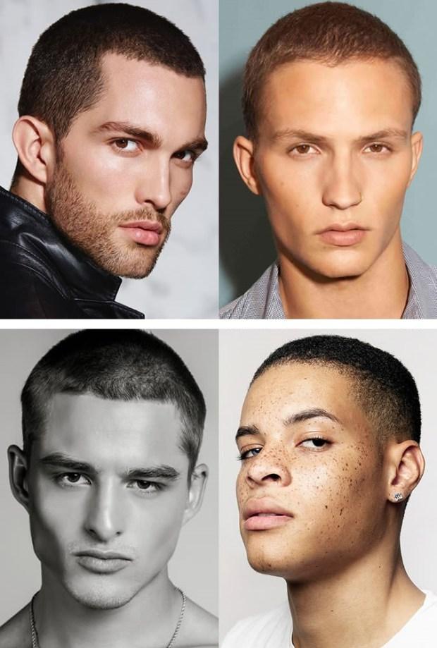 Fashion men haircut