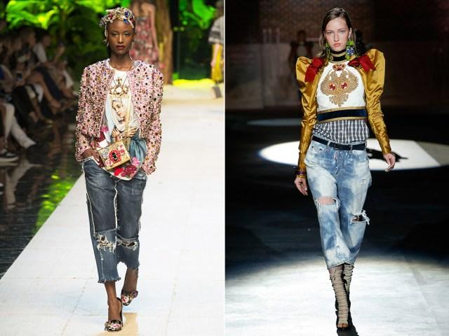 fashion torn