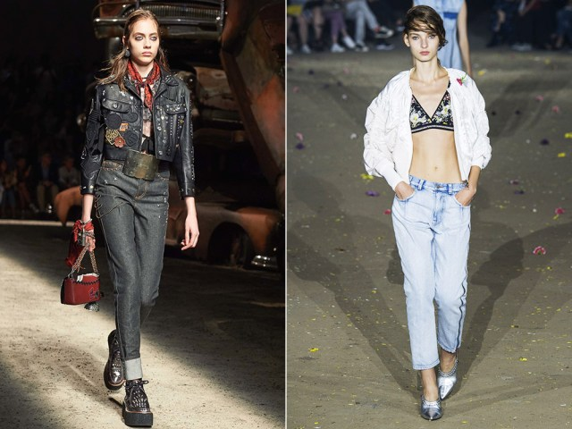 Straight jeans 2017 spring summer