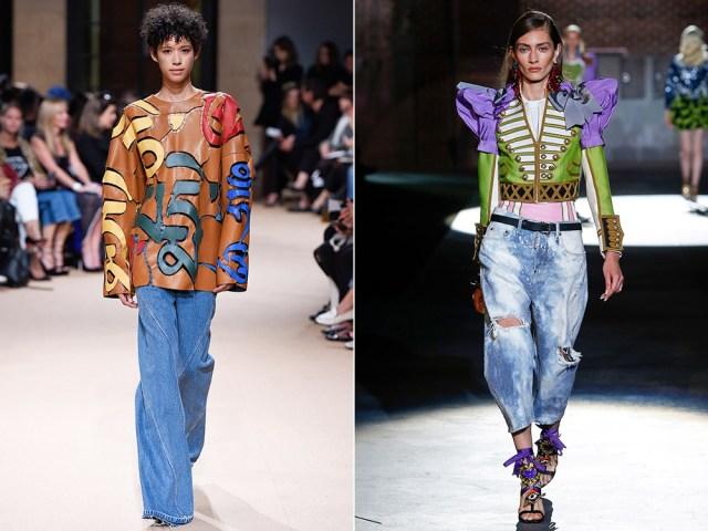 torn oversize fashion