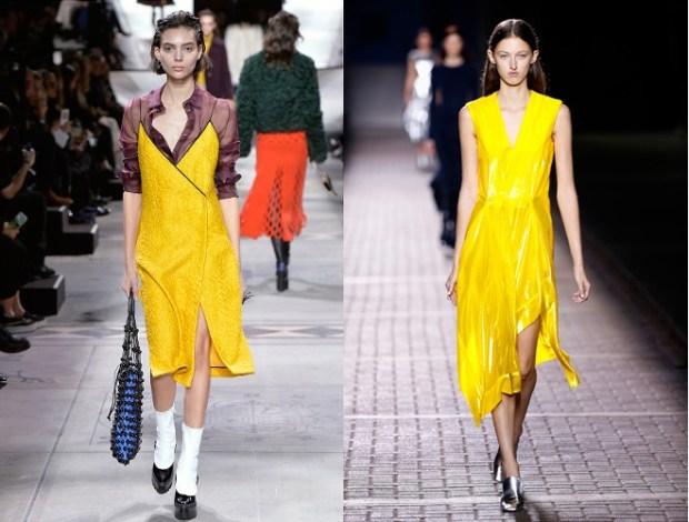 Summer 2018 yellow dresses