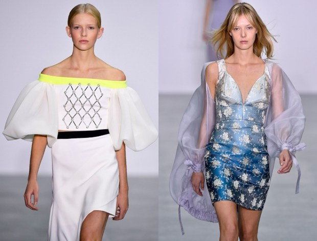 spring summer 2018 London fashion week: special sleeves