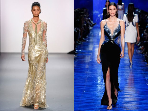 What evening gowns to wear in summer 2018