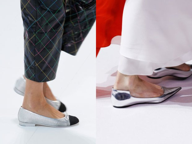 Spring summer 2018 flat sole shoes