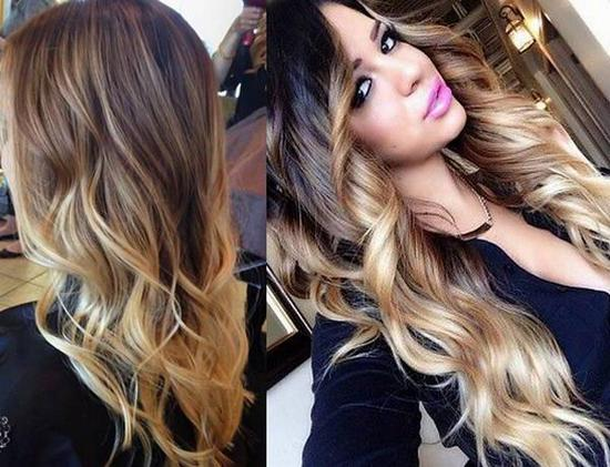 ombre hair colouring 2018