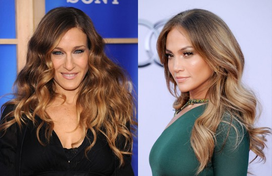 celebrities with somber hair