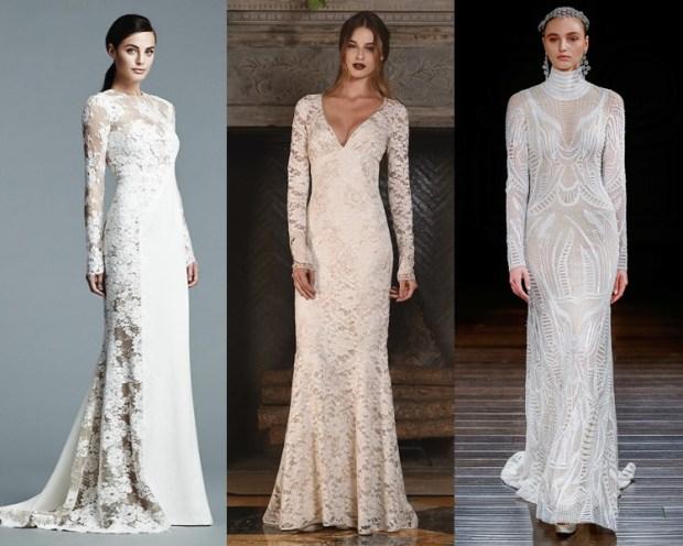 Laced wedding dress 2018