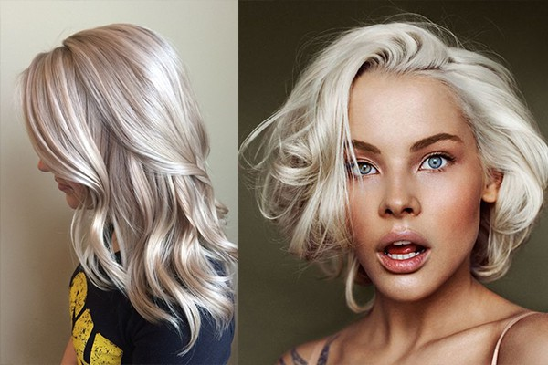 Hair color trends 2018 gray