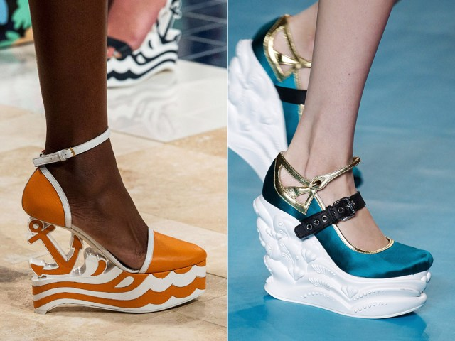 What are the 2017 shoes trends