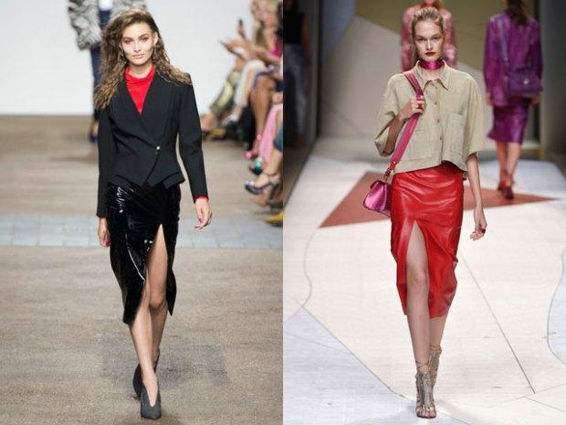 Skirt trends spring 2018