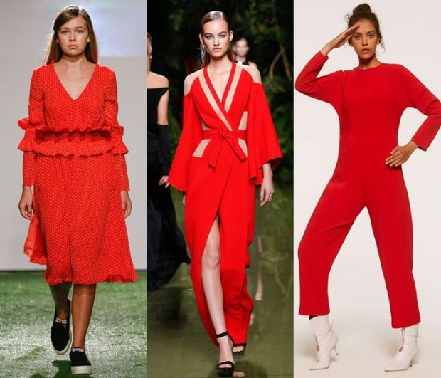 Clothes in fashion colors 2018