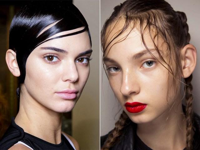 Fashion 2017 bangs